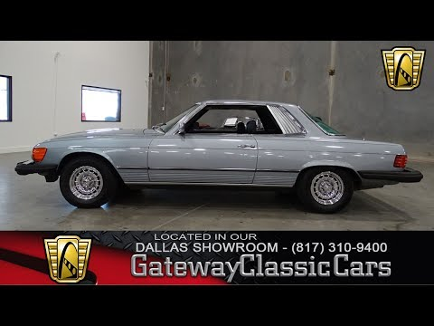 1980 Mercedes Benz 450 SLC #452-DFW Gateway Classic Cars of Dallas