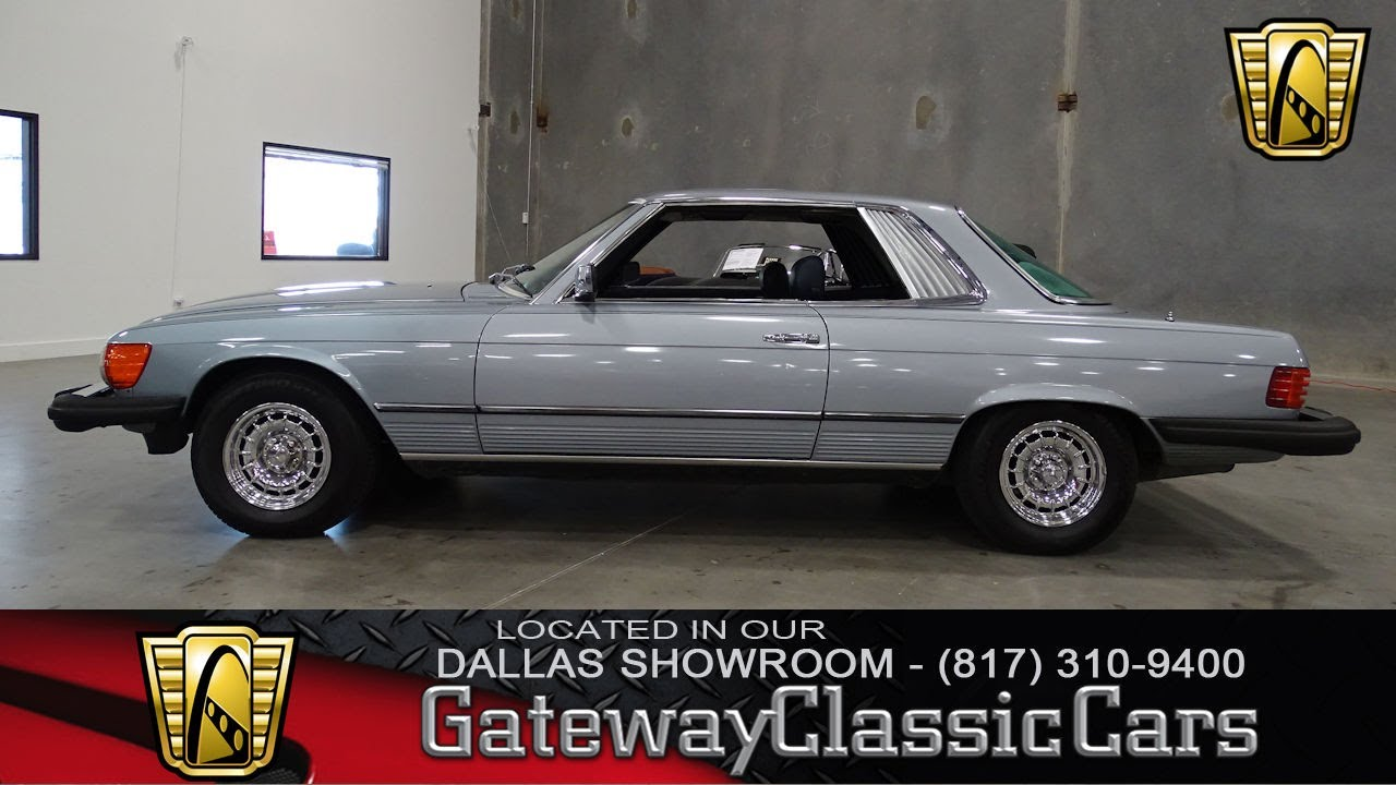 Mercedes Benz Slc Dfw Gateway Classic Cars Of Dallas