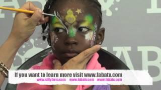 Summer Garden Fairy: Face Painting Tutorial Thumbnail
