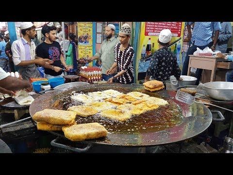 Ramzan Special - Street Food Video | Tawa Chicken , Mutton & Cheese Paratha - Rander , Surat City