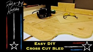 Diy Crosscut Sled