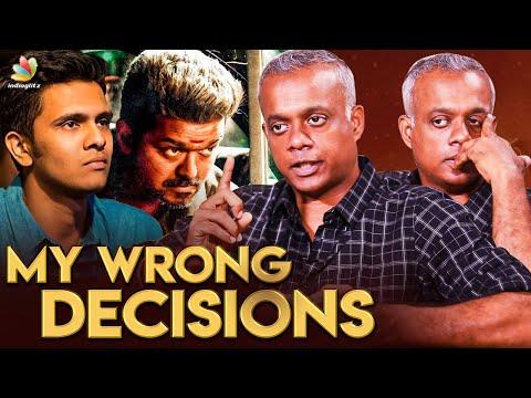 GVM -மை நோக்கி பாயும் தோட்டா | Gautham Menon Interview | Vijay, Dhanush, Karthick Naren | ENPT Movie