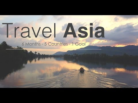 Asia - Travel - Backpacking - Gopro - Dji Mavic - Drone