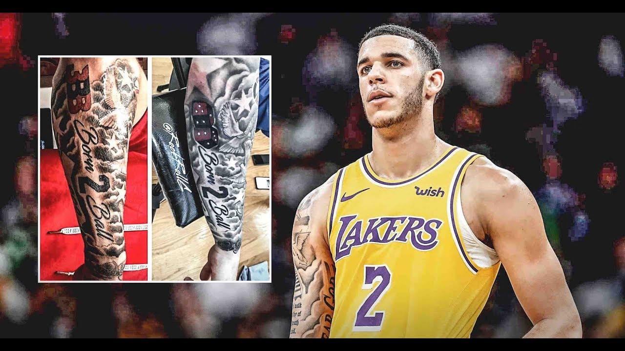 Lonzo Ball Tattoos Updated 2019 Youtube