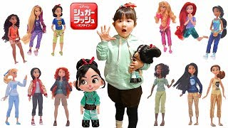 Disney Princess dolls set Ralph Breaks the Internet movie 【限定】...