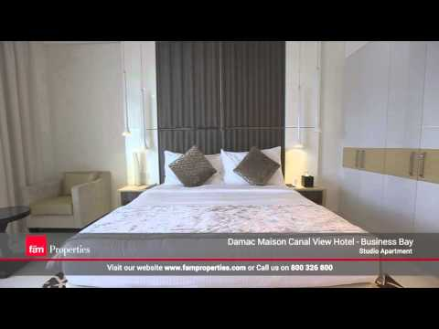Business Bay - DAMAC Maison Hotel Canal Views: Studio Apartment for Sale in Dubai