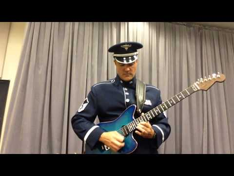 Star-Spangled Banner, United States Air Force, national anthem, America, guitar, solo, Veterans Day