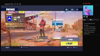 Fortnite Game Battle pass grind Roa to 100subs