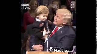 Punjabi mad lipz. Punjabi funny. Trump with baby.  Funny Video  