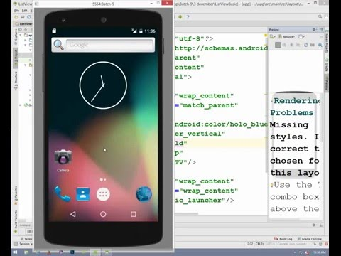 Android List View Custom Layout in Bangla