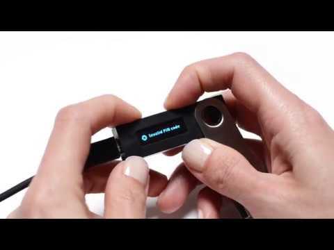 Ledger Nano S — Reset a device