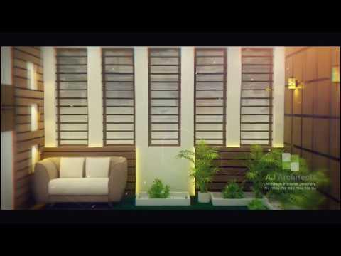 10 Courtyard Designs | AJ Architects | Thalassery | Architects & Interior