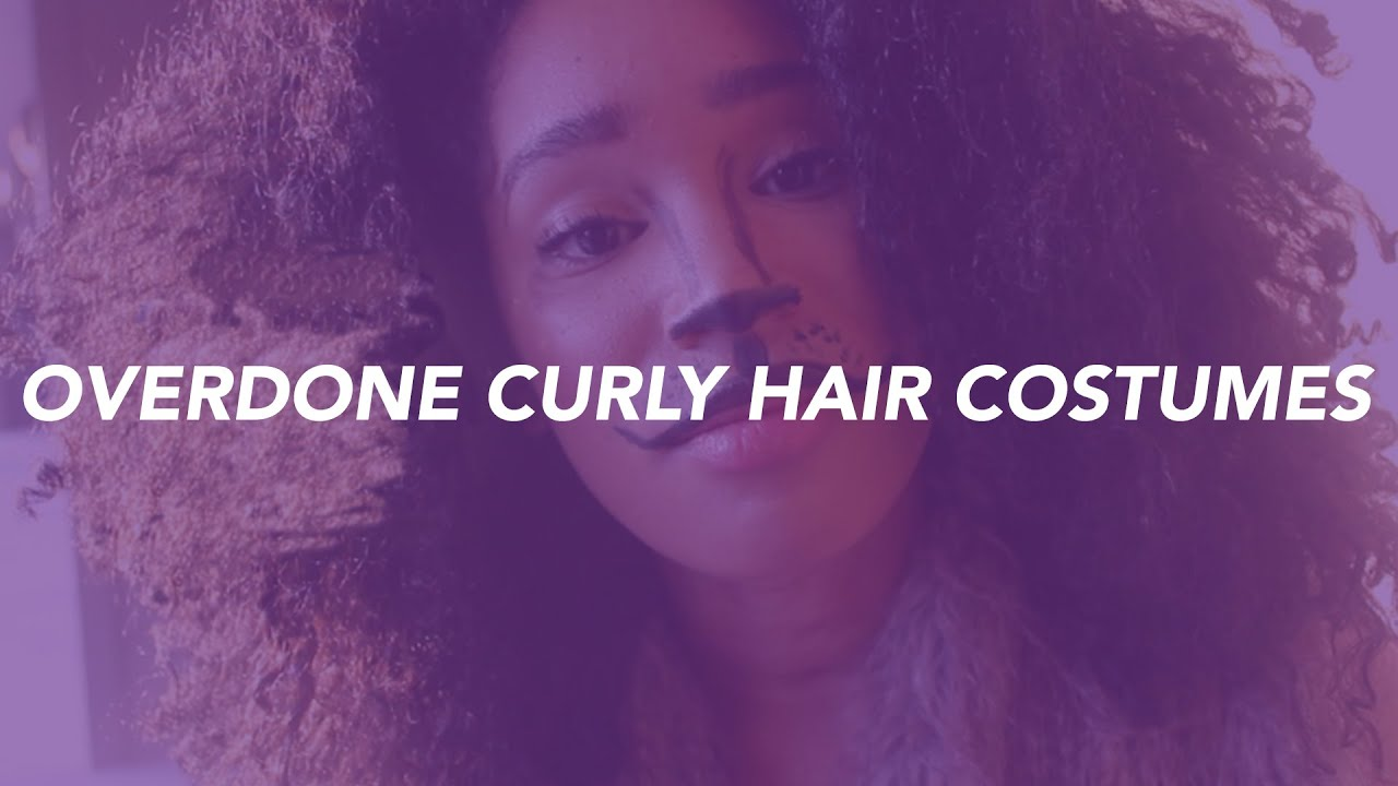 Weu0027re Tired Of These Curly Hair Halloween Costumes!! | The Twist - YouTube & Weu0027re Tired Of These Curly Hair Halloween Costumes!! | The Twist ...