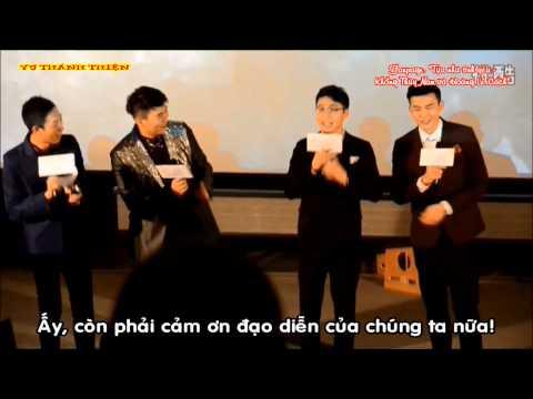 [Vietsub] Khổng Thùy Nam và Hoàng Lễ cách giao lưu với khán giả