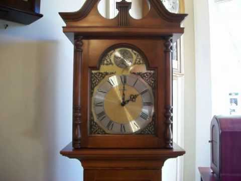 Howard Miller Barwick Colonial Style Grandmother Clock