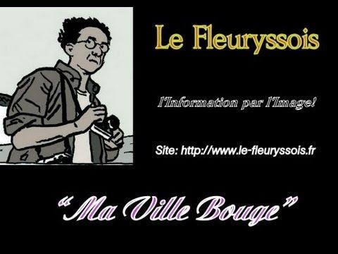 Inauguration de la Fibre Ville de Fleury les Aubrais.