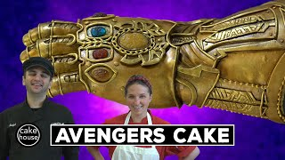 Marvel's Avengers Infinity Gauntlet Cake | Sculpting with Cake Boss Ralph
