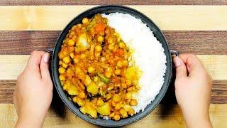 Potato & Chickpea Curry #3