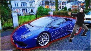 Zuschauer finden den geklauten Lamborghini !!