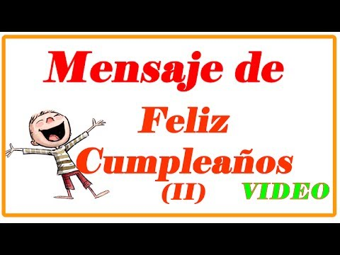 Mensajes De Feliz Cumpleaños Frases De Cumpleaños Youtube