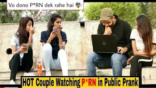 COUPLE Watching PORN  in Public _ Hilarious reactions🤣 _ Pranks in India _ India_HIGH.m4v