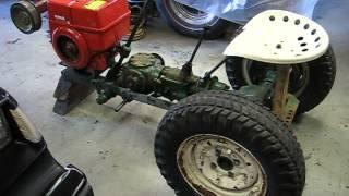 1960 's Pow'r Pup Power Popular Mechanics Magazine Garden Tractor Build Part 3