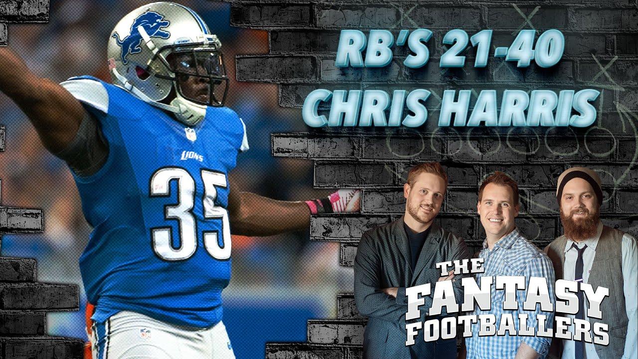 Running Backs 21 40 Christopher Harris The Fantasy Footballers