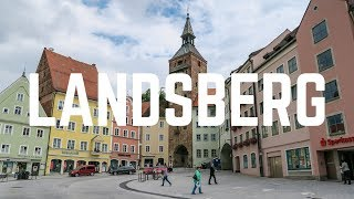 My Visit to Landsberg am Lech in Germany