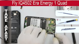 how to disassemble  Fly IQ4502 Era Energy 1 Quad, Take Apart (Detailed tutorial)