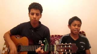 Kader Japonais - Wa 3Lach (Guitar Cover By Nassime & nouamane Bouzar) قادرالجابوني - و علاش
