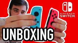 My Nintendo Switch Unboxing Experience!