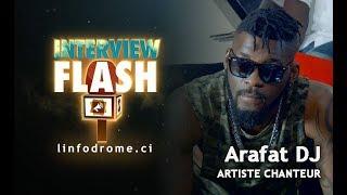 Interview Flash : Concert, justice, Débordo, Ariel Sheney, A'salfo ... DJ Arafat dit tout!