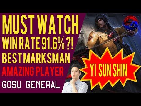 The Best Marksman Player Live - Gosu General (Mobile Legends)