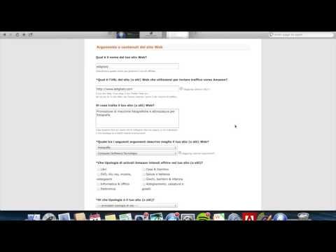 Come iscriversi al programma di affiliazione di Amazon.it