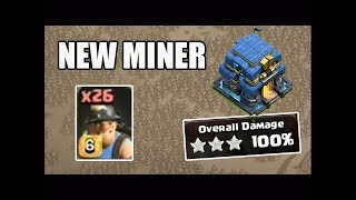 Test Level 6 Miner TH12 3 Star Attack Clash of Clans