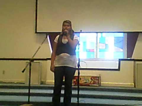 Alexis Kennedy singing Broken Wing
