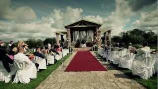 Шикарная свадьба в замке Birini (Birinu Pils)! 2012 god! Elena i Shota!