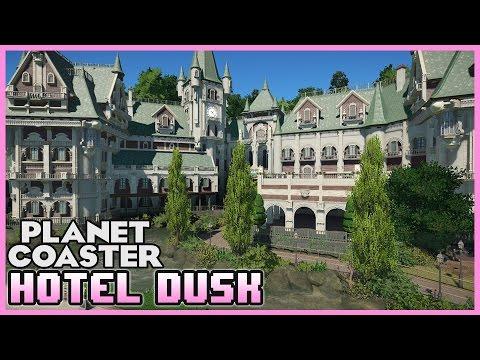 HOTEL DUSK! Dark Ride! Ride Spotlight 09 #PlanetCoaster