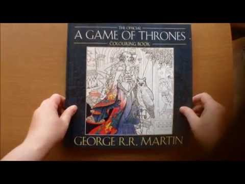 The Official Game Of Thrones Colouring Book by George R. R. Martin Flip through