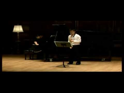 David Maslanka, Sonata for Alto saxophone and  Piano, performed by Hyungryoul Kim