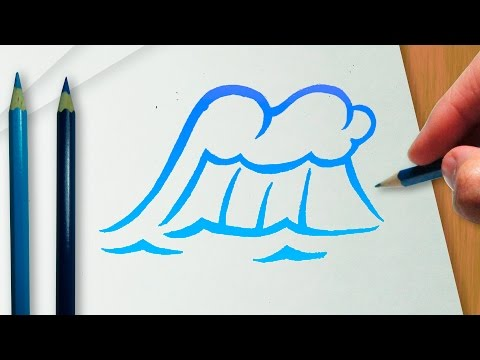 Como Desenhar Uma Onda Do Mar Versao Tribal Tatoo Youtube
