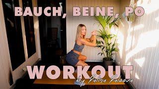 Bauch-Beine-Po-Workout für Zuhause by Palina Paleeva