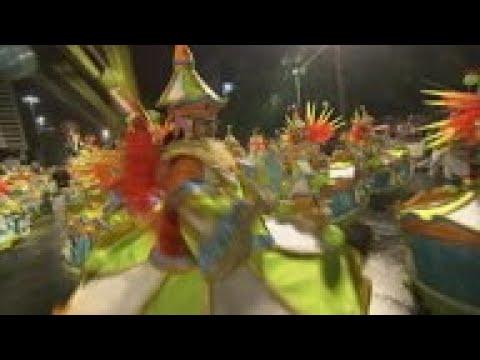 Top Samba Schools Perform At Rio Carnival Parade