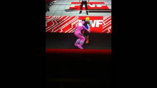 FWF Ep47 pt5: Pink Ranger vs Android 18 submission match