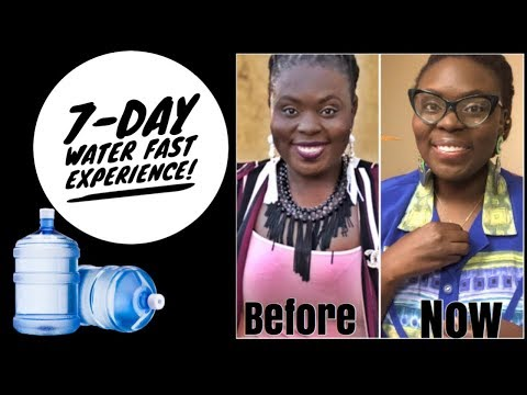 7 Day Water Fast Experience   Results + Benefits!
