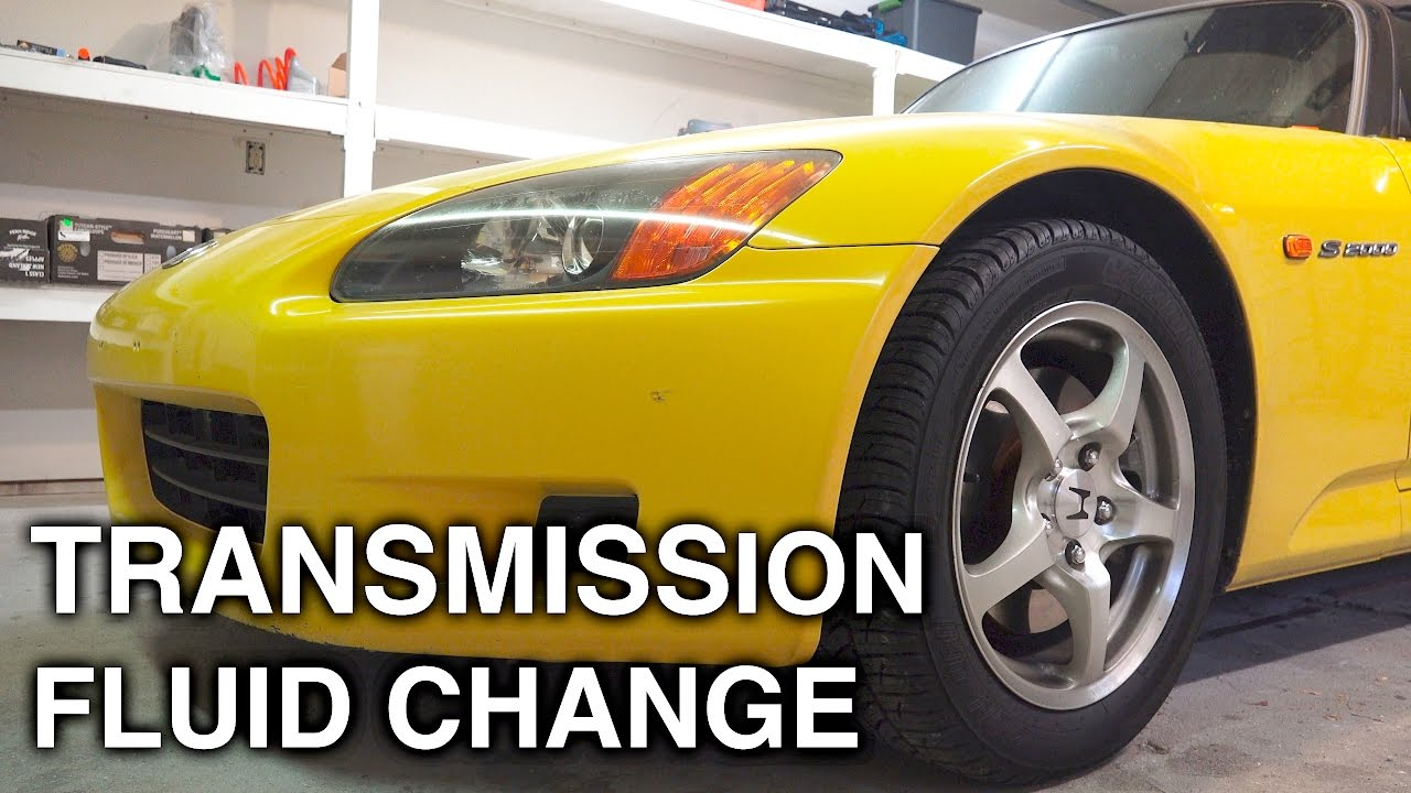 How to Change Manual Transmission Fluid - Why and When to