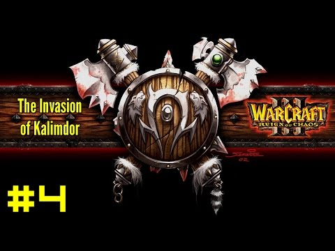 Warcraft III Reign of Chaos: Orc Campaign #4 - The Spirits of Ashenvale
