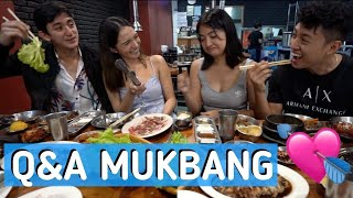 KBBQ MUKBANG WITH ANGEL DEI & OUR MIGUELs | Rei Germar