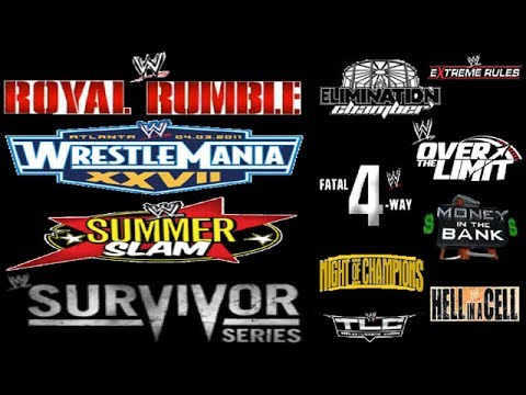 WWE Top 10 Best PPV's Of All Time