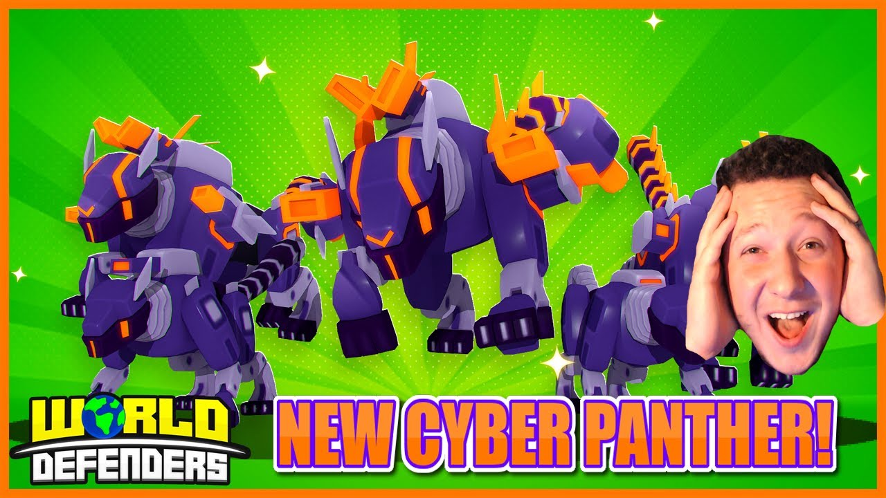 NEW CYBER PANTHER TOWER!!😱NEW RAMBO REPLACEMENT! WORLD DEFENDERS UPDATE!